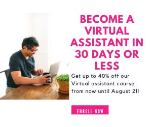 For virtual assistant course